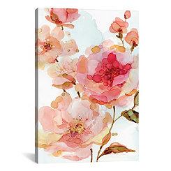 Vivid Roses Canvas Art Print