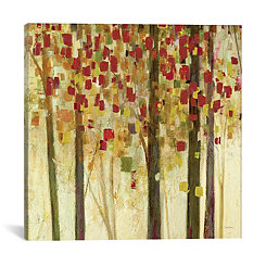 Autumn Shimmer Canvas Art Print