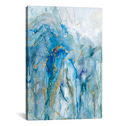 Abstract Lapis Canvas Art Print