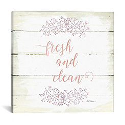 Fresh and Clean Canvas Art Print
