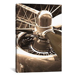 Aircraft Portrait Canvas Art Print