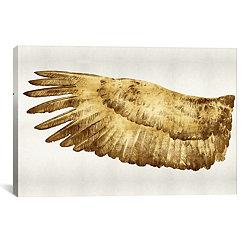 Gold Wing I Canvas Art Print