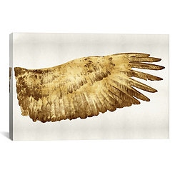 Gold Wing II Canvas Art Print