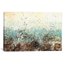 Abstract Cadence Canvas Art Print