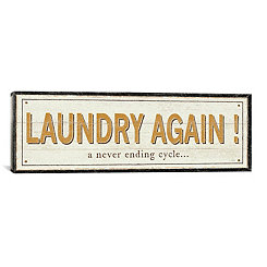 Laundry Again Canvas Art Print