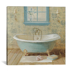 Victorian Bath I Canvas Art Print