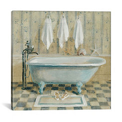 Victorian Bath IV Canvas Art Print