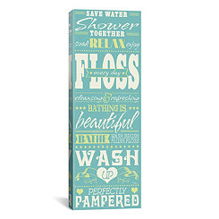 Wash Up II Canvas Art Print