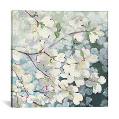Magnolia Delight Canvas Art Print