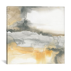 Abstract Minerals Canvas Art Print