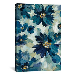 Inky Floral I Canvas Art Print