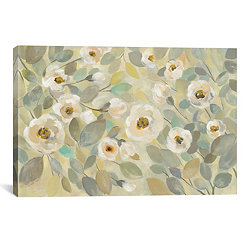 Blooming Branches Flower Canvas Art Print