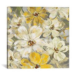 Scattered Spring Petals Canvas Art Print