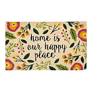 Home Is Our Happy Place Doormat