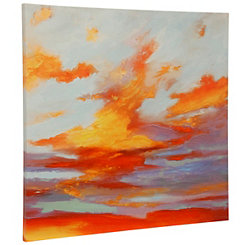 Oxidized Skies Canvas Art Print