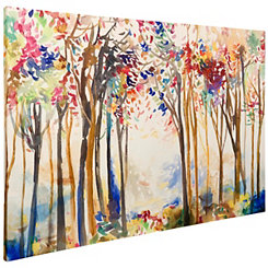 Animated Forest Canvas Art Print
