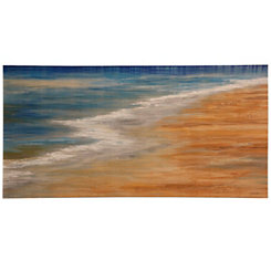 Low Tides Hand-Painted Canvas Art Print