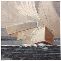 Nautical Wind Canvas Art Print