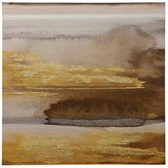 Gold Embellished Storm Cloud Canvas Art Print