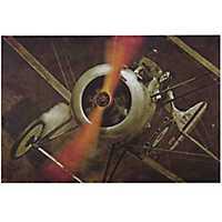 Vintage Airplane Metal Art