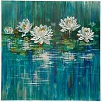Botanical Lilies Metal Art