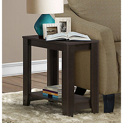 Rectangular Cappuccino Accent Table