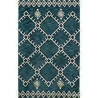 Blue Saffi Area Rug, 8x11