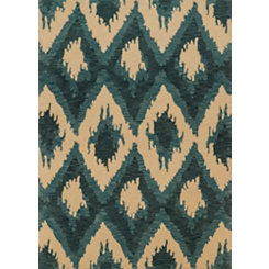 Blue Zara Area Rug, 5x7