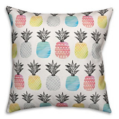 Bright Pineapples Pillow