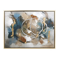 Coventia Abstract Framed Canvas Art Print