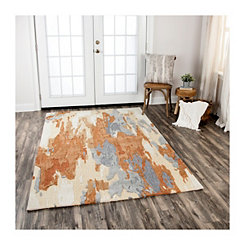 Brown Hattie Area Rug, 5x8