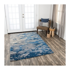 Blue Maggie Area Rug, 5x8