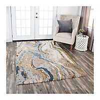 Beige Carson Area Rug, 8x10