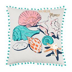 Beach Please Simply Southern Pillow