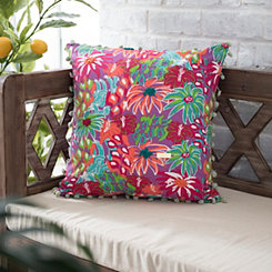 Multicolor Floral Simply Southern Pillow