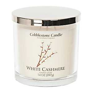 White Cashmere Jar Candle