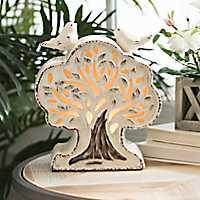 Ivory Tree Tabletop Night Light