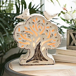 Ivory Tree Tabletop Night Light