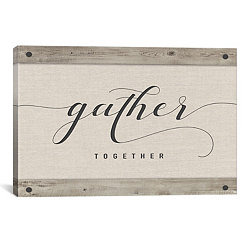 Gather Together Canvas Art Print