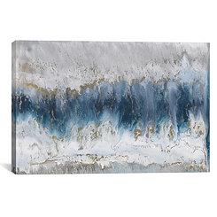Blue Moonstone Canvas Art Print