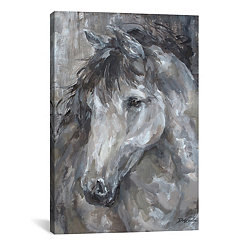 Graceful Horse Canvas Art Print
