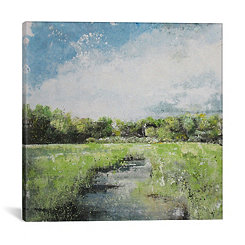 Stagioni Landscape Canvas Art Print