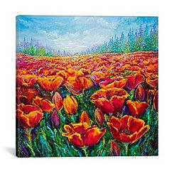 Tulip Time Canvas Art Print