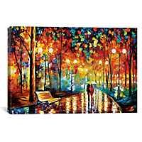 Rain Rustle II Canvas Art Print