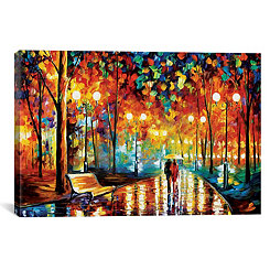 Rain Rustle II Canvas Art Print