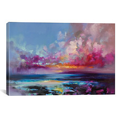 Arran Glow Canvas Art Print