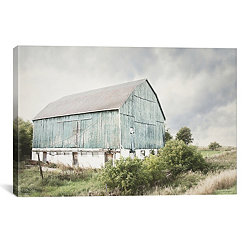 Late Summer Barn I Canvas Art Print