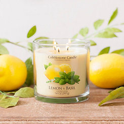 Lemon and Basil Jar Candle