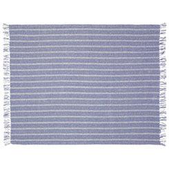 Blue Flynn Woven Blanket