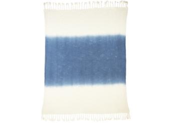 Navy Ombre Slub Blanket